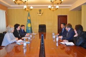 Встреча руководителя Skillscenter с представителями МДРиГО Республики Казахстан